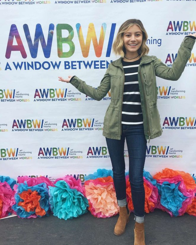 Genevieve Hannelius - Art In The Afternoon in Venice Skills Center