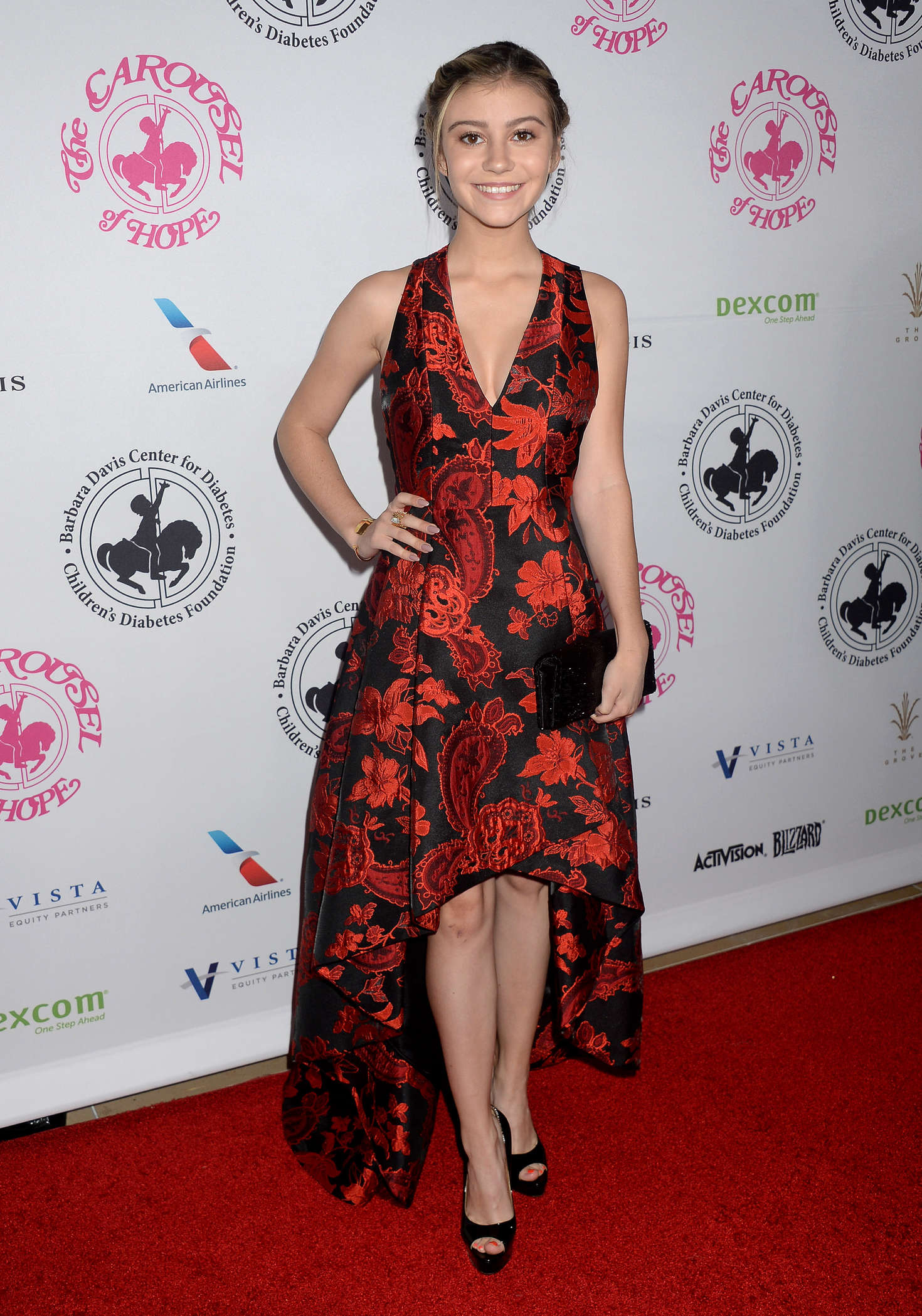 Genevieve Hannelius - Carousel of Hope Ball 2016 in ...