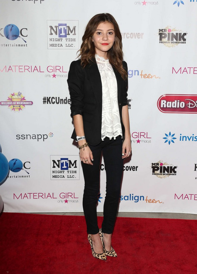 """Genevieve Hannelius – """"K.C. Undercover"""" Premier Party in Hollywood"""