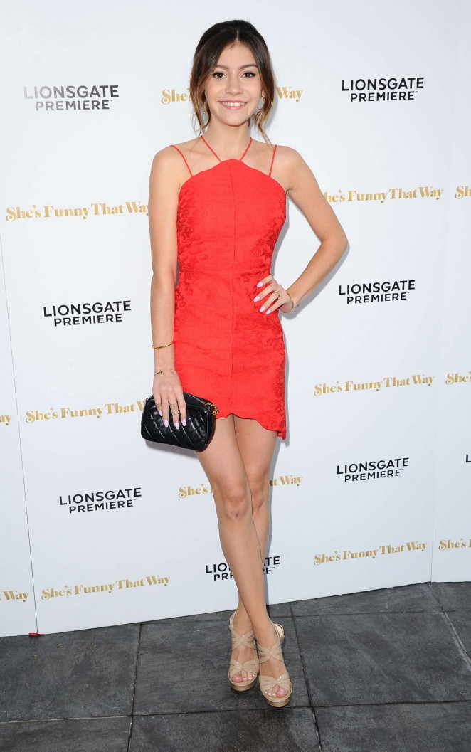 Genevieve Hannelius - 'She's Funny That Way' Premiere in LA