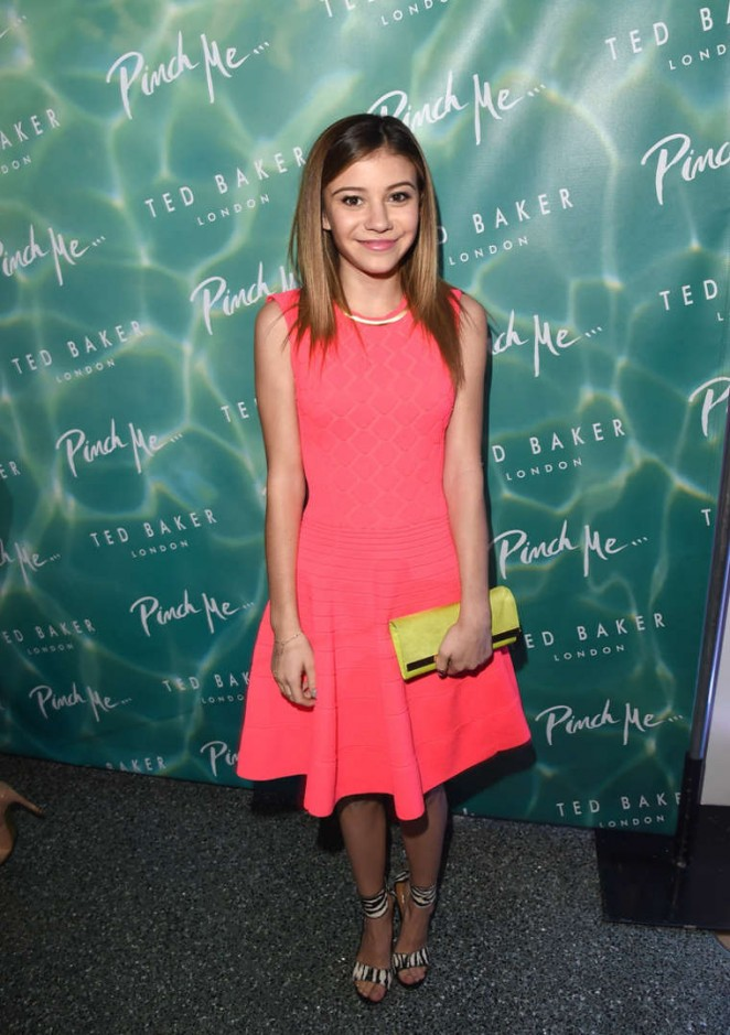 Genevieve Hannelius – Ted Baker London SS15 Collection Launch in Beverly Hills