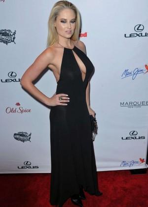 Genevieve Morton: 2015 SI Swimsuit Issue Celebration -03