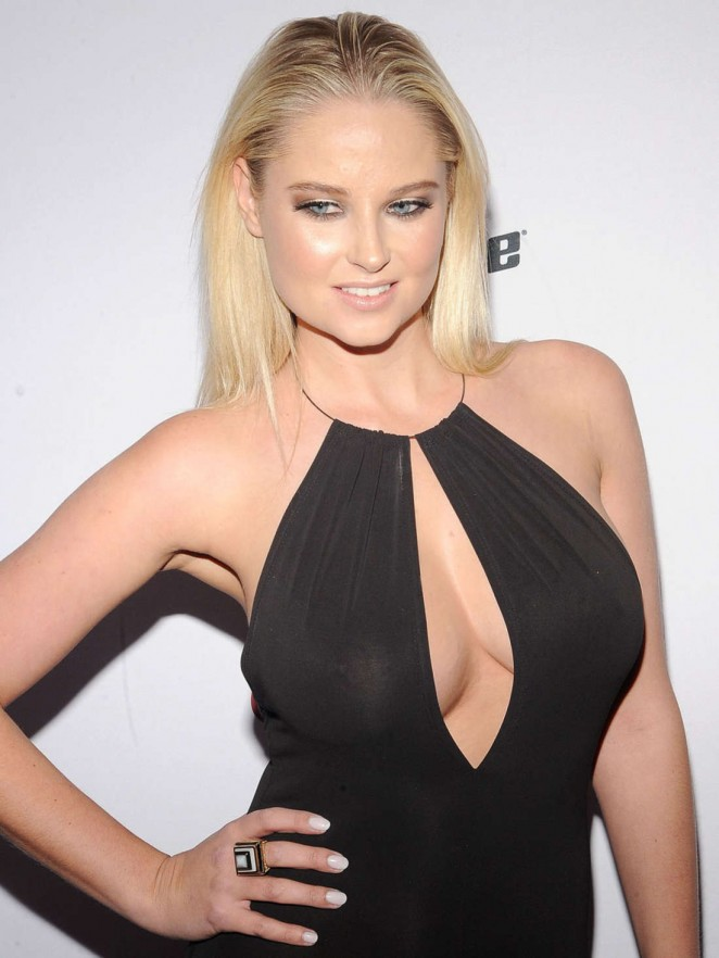Genevieve Morton - 2015 Sports Illustrated Swimsuit Issue Celebration in NYC