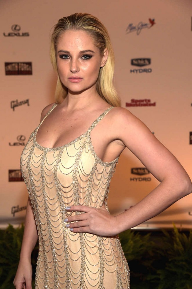 Genevieve Morton - SI 2015 Swimsuit Takes Over the Schermerhorn Symphony Center in Nashville