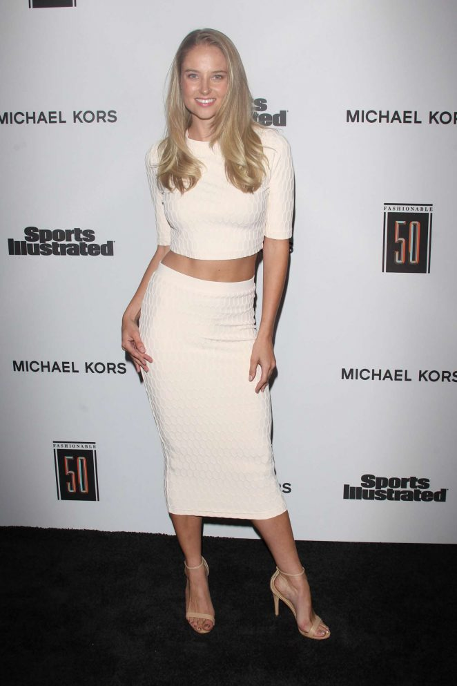 Genevieve Morton – Sports Illustrated Fashionable 50 in Hollywood