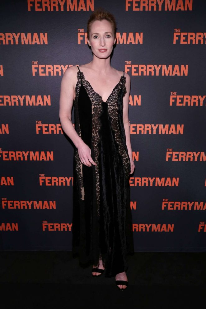 Genevieve O'Reilly - 'The Ferryman' Opening Night in New York