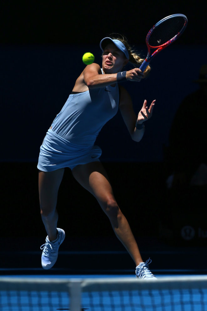 Genie Bouchard - Hopman Cup in Perth