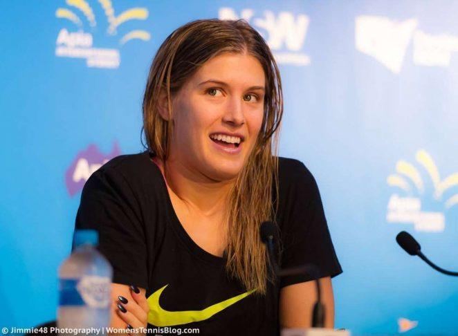 Genie Bouchard: Sydney International 2017 -10