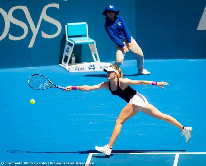 Genie Bouchard: Sydney International 2017 -18