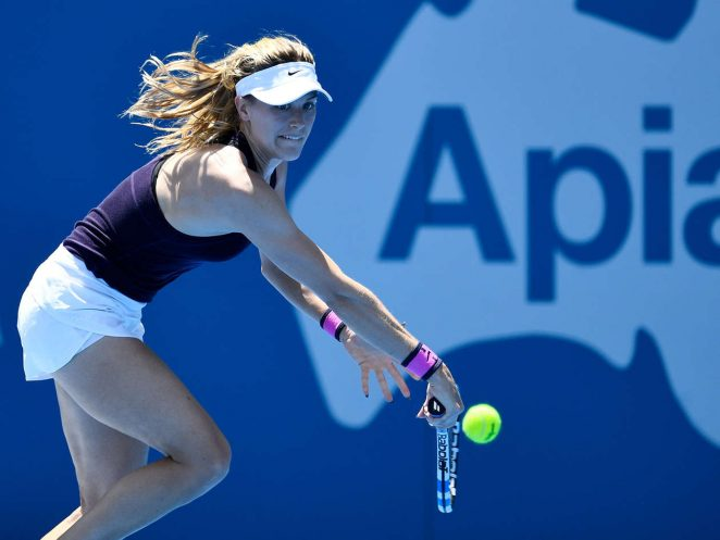 Genie Bouchard 2017 : Genie Bouchard: Sydney International 2017 -20