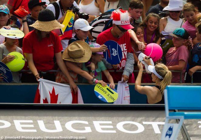 Genie Bouchard: Sydney International 2017 -21