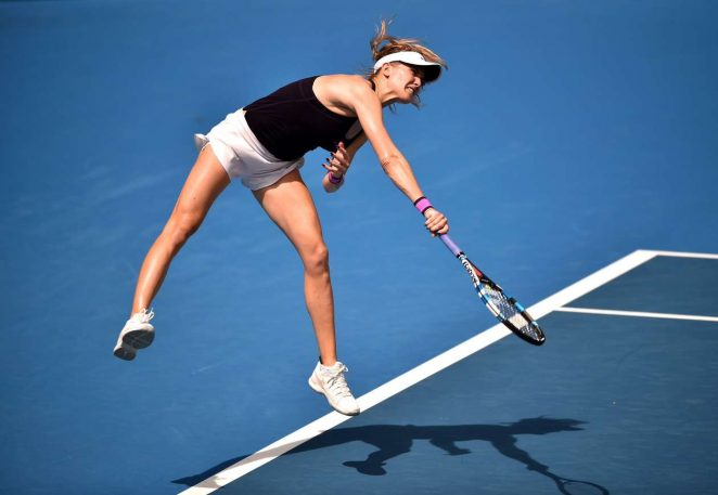 Genie Bouchard 2017 : Genie Bouchard: Sydney International 2017 -22