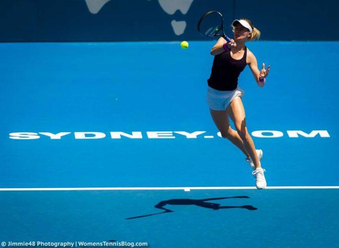 Genie Bouchard: Sydney International 2017 -23