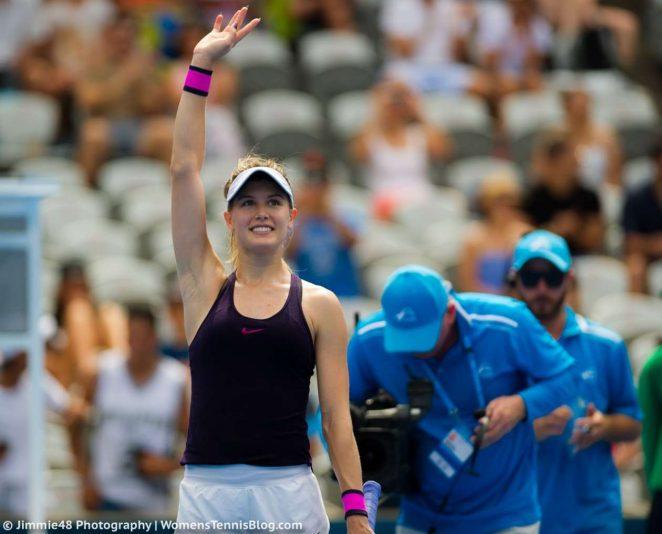 Genie Bouchard: Sydney International 2017 -27