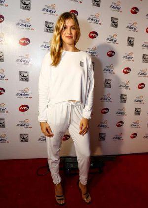 Genie Bouchard - WTA Players Party in Acapulco
