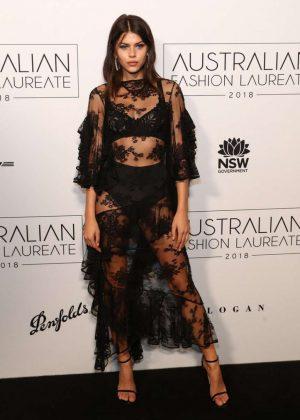 Georgia Fowler - 2018 Australian Fashion Laureate Awards in Sydney