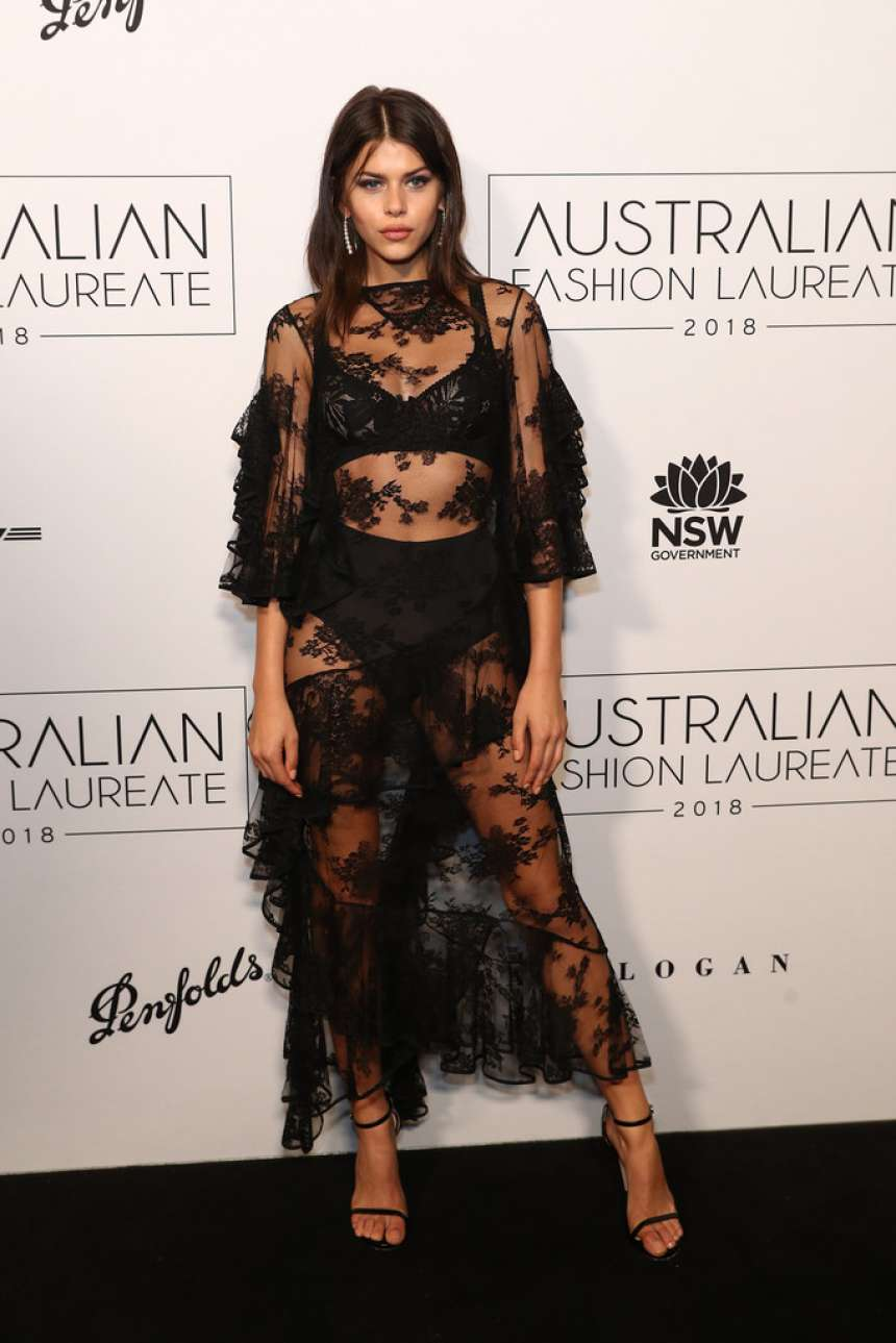 Georgia Fowler – 2018 Australian Fashion Laureate Awards in Sydney