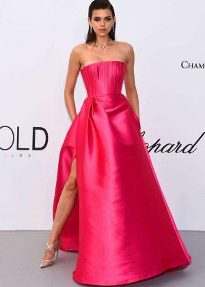 Georgia Fowler – Red Carpet at amfAR's Cinema Against AIDS Gala in Cannes