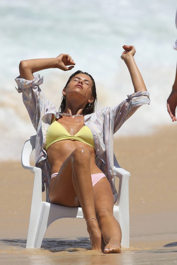 Georgia Fowler - Swimwear photoshoot in Bondi