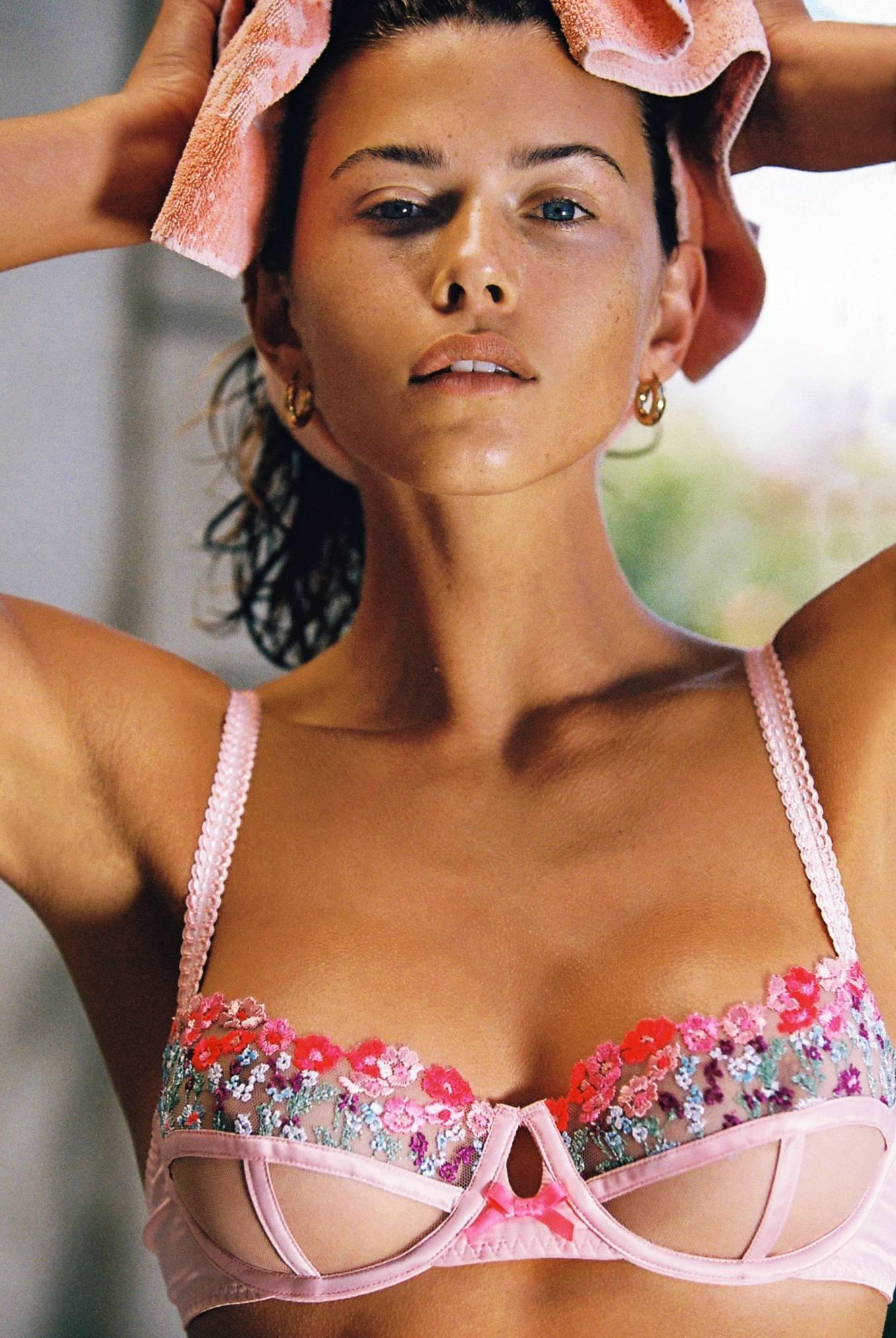 Georgia Fowler 2021 : Georgia Fowler – Victoria's Secret x For Love and Lemons (March 2021)-03