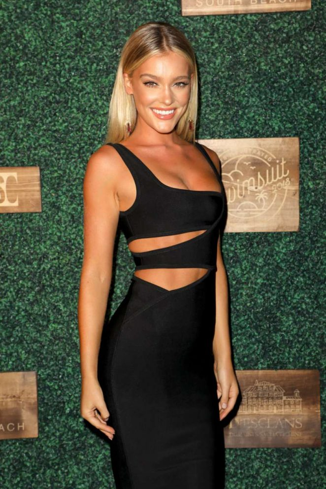 Georgia Gibbs – 2018 Sports Illustrated Swimsuit Swim Week Party in Miami