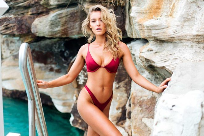 Georgia Gibbs: TJ Swim Bikini Photoshoot 2017 -01