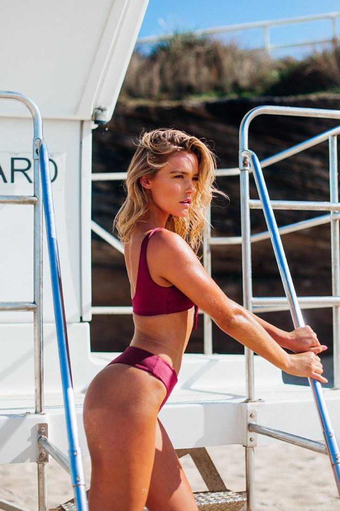 Georgia Gibbs 2017 : Georgia Gibbs: TJ Swim Bikini Photoshoot 2017 -05