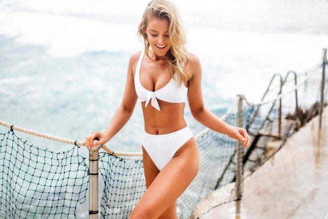 Georgia Gibbs: TJ Swim Bikini Photoshoot 2017 -12