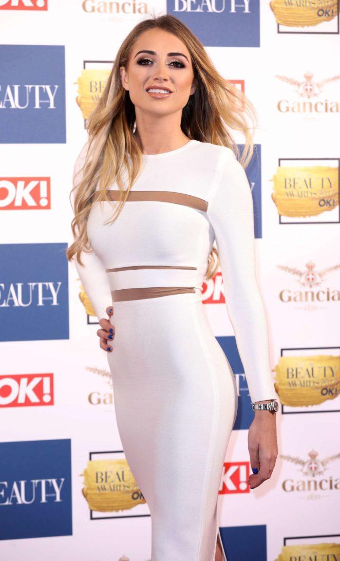 Georgia Harrison - 2017 Beauty Awards in London