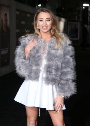 Georgia Harrison - 'Bright' Premiere in London