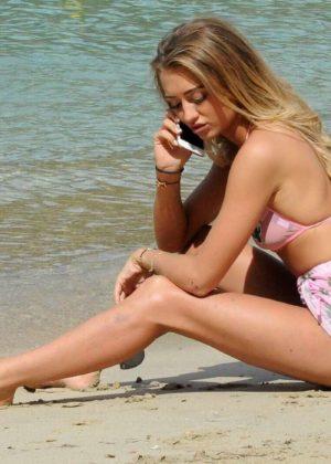 Georgia Harrison in Bikini on the beach in Tenerife Pic 29 of 35