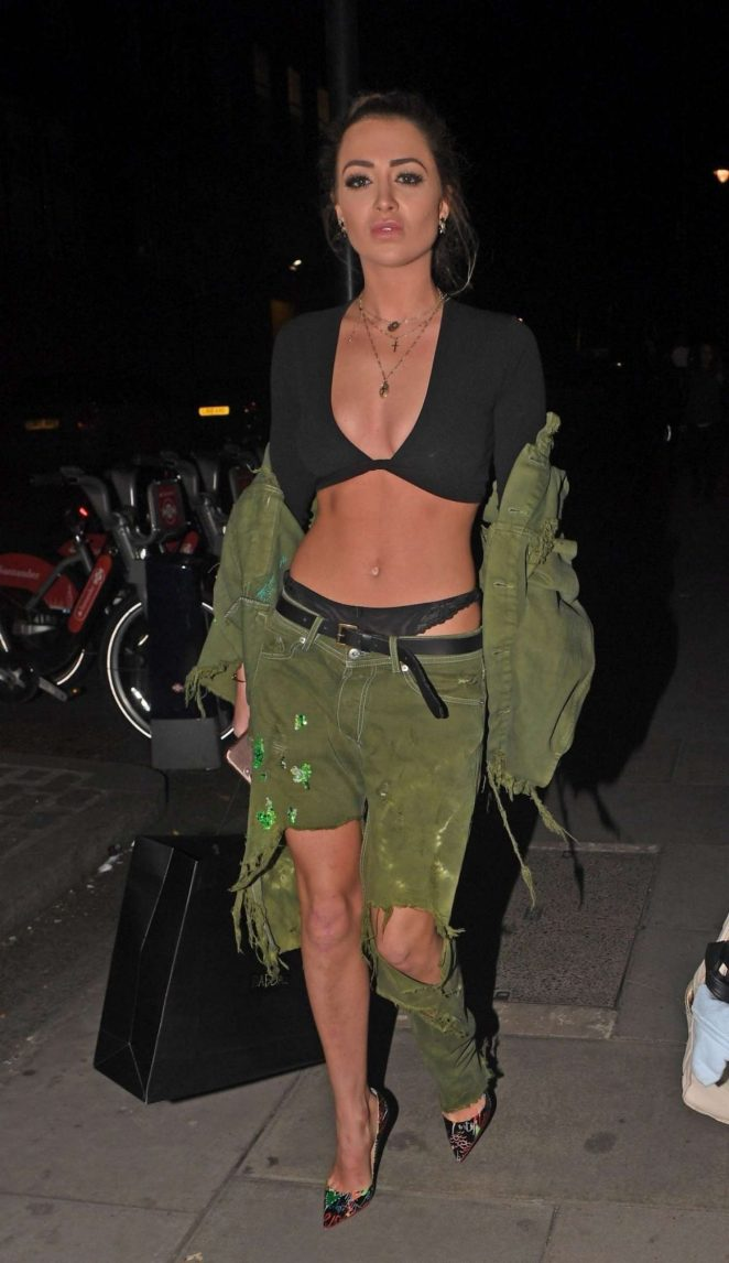 Georgia Harrison - Megaro Bar Launch in London