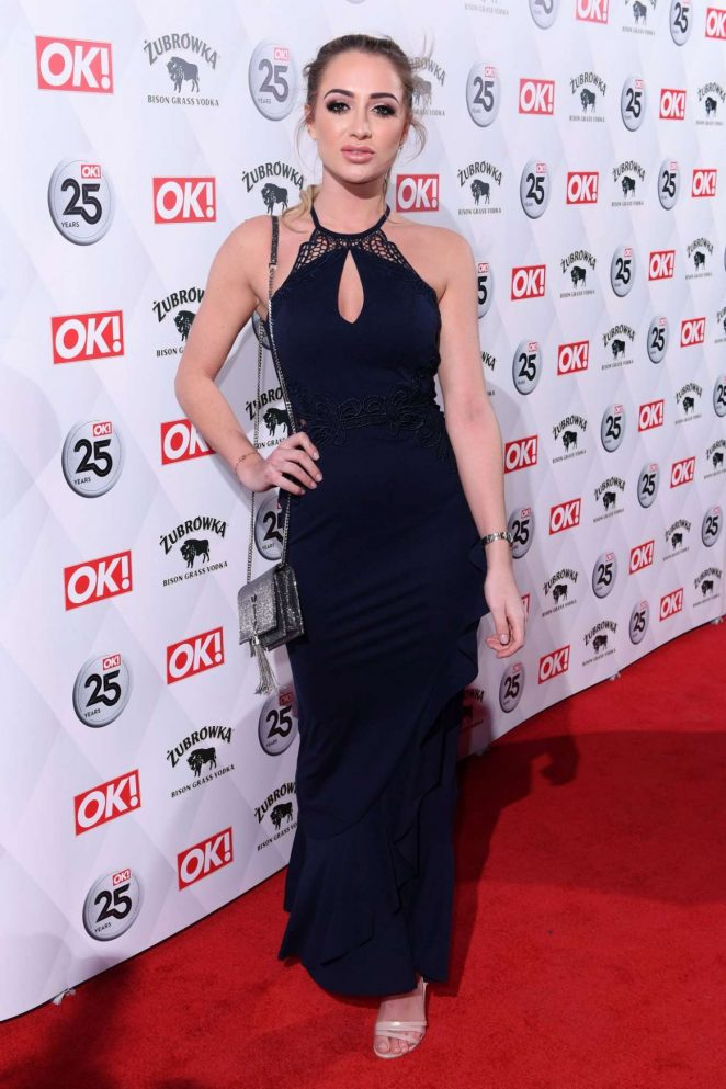 Georgia Harrison -  OK! Magazine's 25th Anniversary Party in London