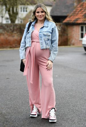 Georgia Kousoulou - The Only Way is Essex TV Show filming in Essex