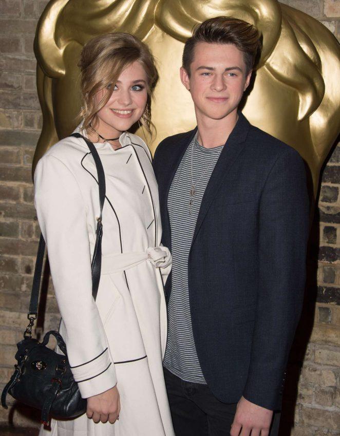 Georgia Lock - 2016 BAFTA Children's Awards in London
