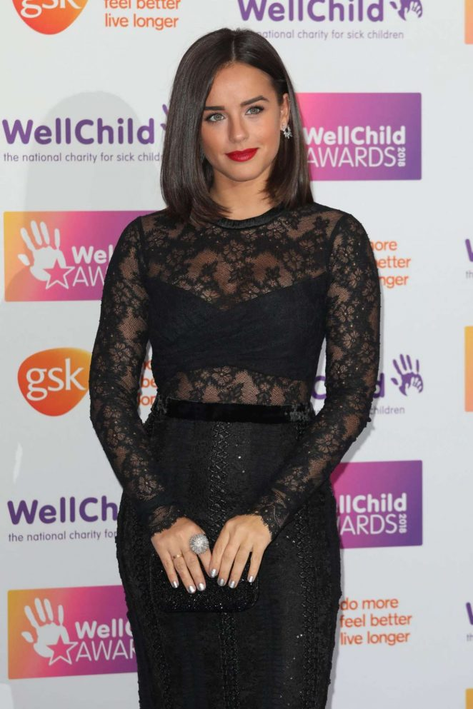 Georgia May Foote - 2018 WellChild Awards in London
