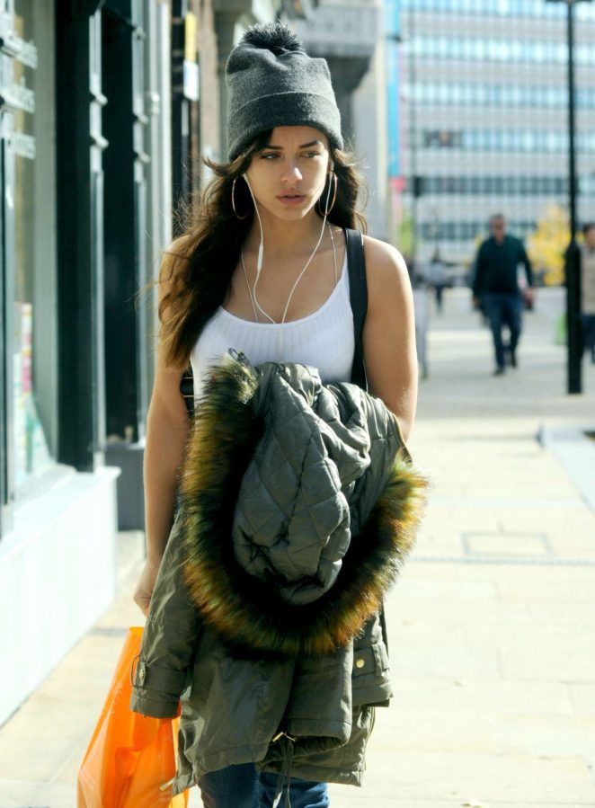 Georgia May Foote - Shopping in Sheffield