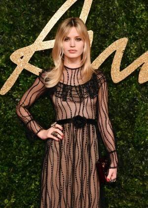 Georgia May Jagger - British Fashion Awards 2015 in London