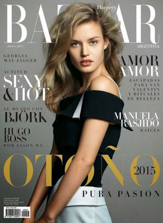 Georgia May Jagger - Harper's Bazaar Argentina Cover (February 2015)