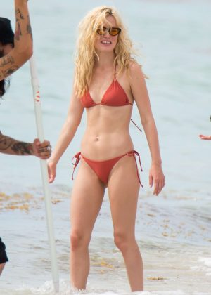Georgia May Jagger in Bikini and Swimsuit - Photoshoot in Miami