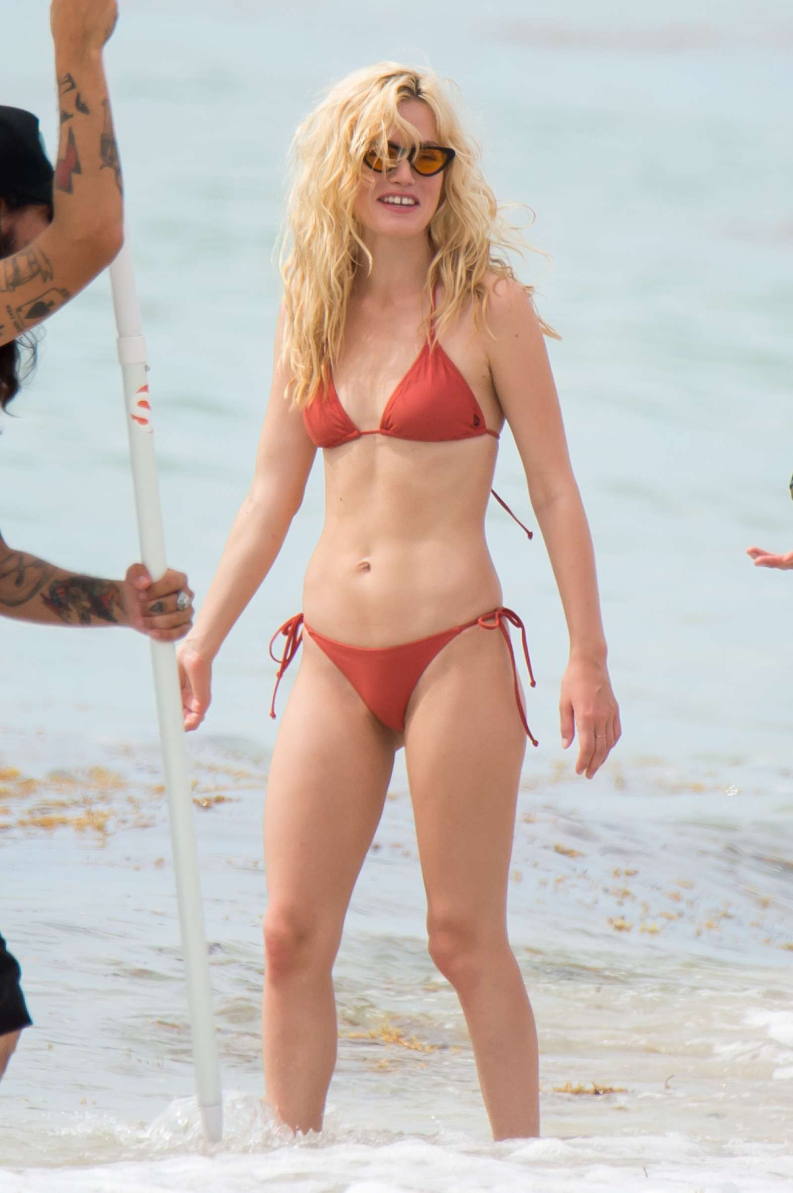 Georgia May Jagger in Bikini and Swimsuit – Photoshoot in Miami