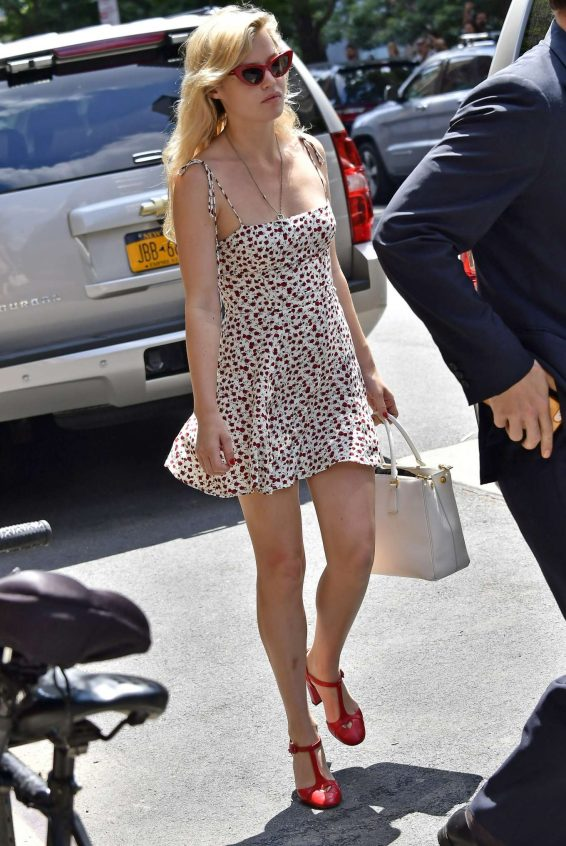 Georgia May Jagger 2019 : Georgia May Jagger in Floral Mini Dress-05