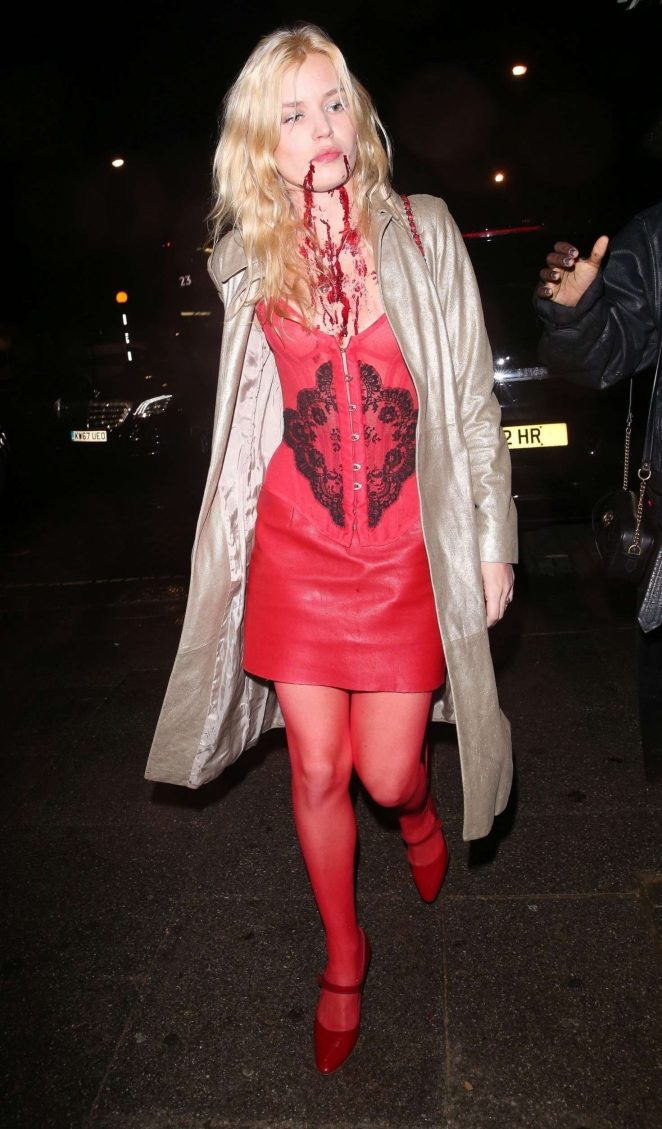 Georgia May Jagger -  LAYLOW Halloween Party in London
