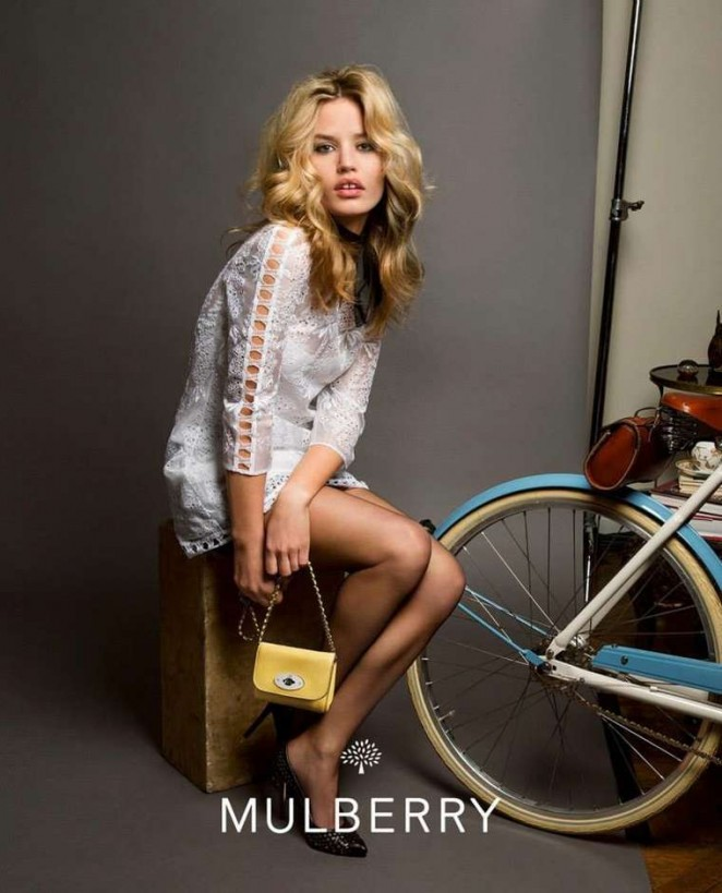Georgia May Jagger - Mulberry Spring 2015 Campaign