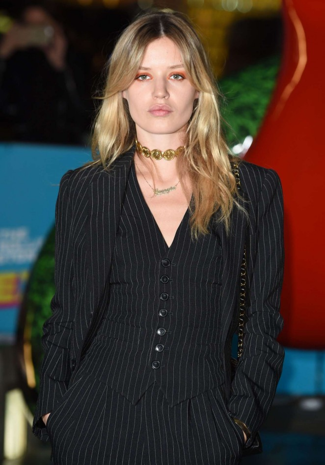 Georgia May Jagger – The Rolling Stones Exhibitionism in London