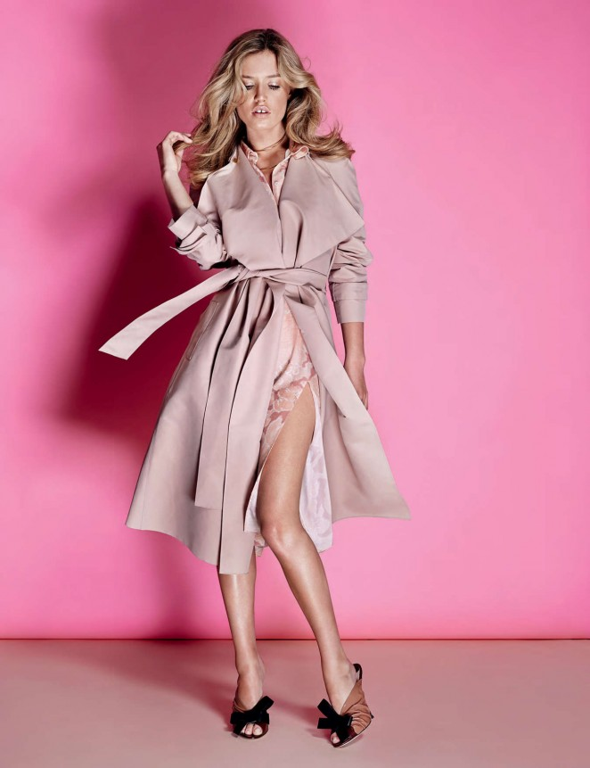 Georgia May Jagger - Vogue Ukraine Magazine (May 2015)