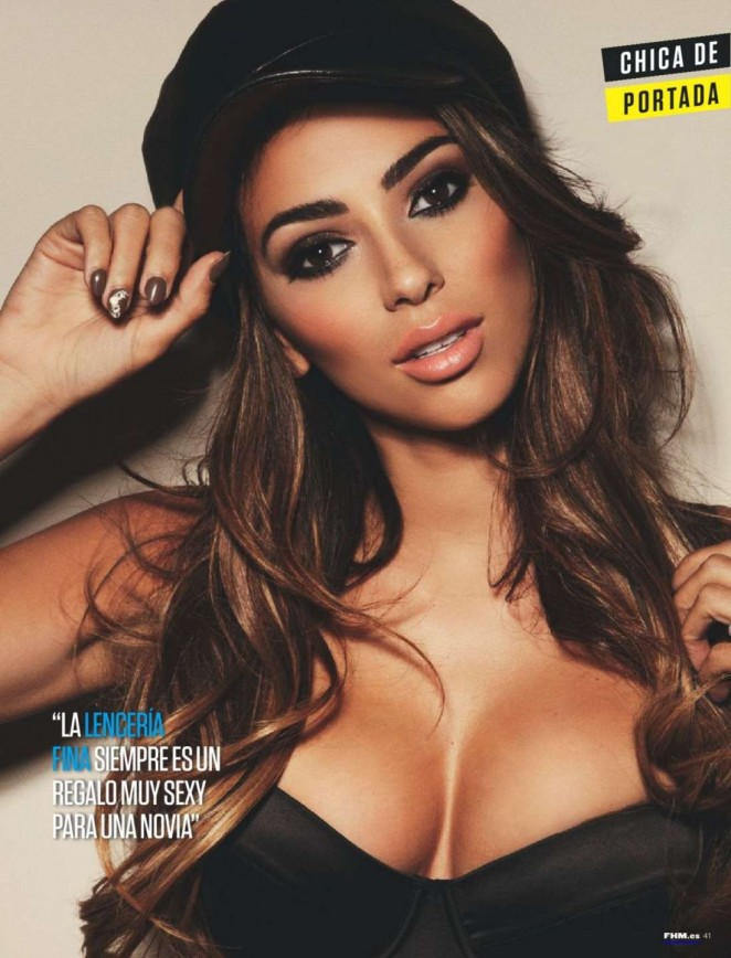 Georgia Salpa - FHM Spain Magazine (April 2015)