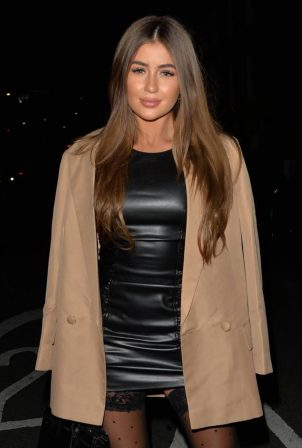Georgia Steel - Night out at Novikov in Mayfair