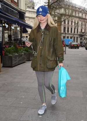 Georgia Toffolo - Arriving at Capital FM in London