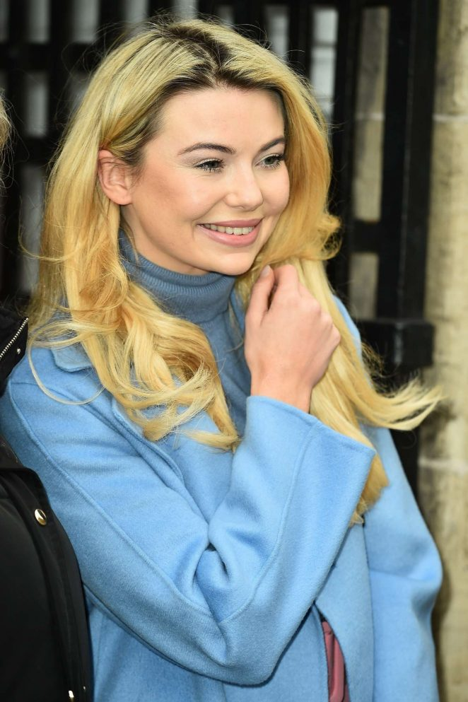 Georgia Toffolo at The ITV Studios in London